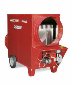 Jumbo 150 152kW Diesel Heater - Click for larger picture