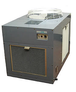 17.0kW Denso 50HE Portable Industrial Spot Cooler (3 phase) - Click for larger picture