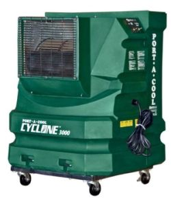 Cyclone 3000 evaporative cooler - 75 sq m - Click for larger picture