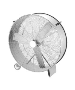"EH0126 Slim Drum Fan - 36"" (90cm) - Click for larger picture"