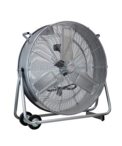 "EH0134 Ultra Slim Drum Fan - 30"" (75cm) - Click for larger picture"