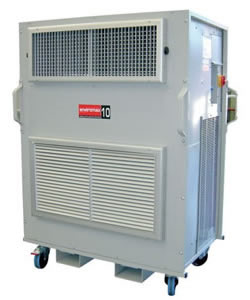 ENVIROMAX10 - Industrial portable air conditioner with heat pump - 10.0kW - Click for larger picture