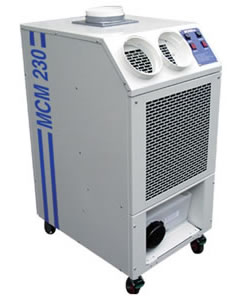 Broughtons MCM230 - Industrial portable air conditioner - 6.7kW - Click for larger picture