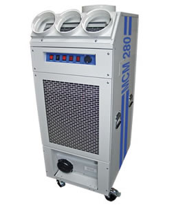 Broughtons MCM280 - Industrial portable air conditioner - 8.2kW - Click for larger picture